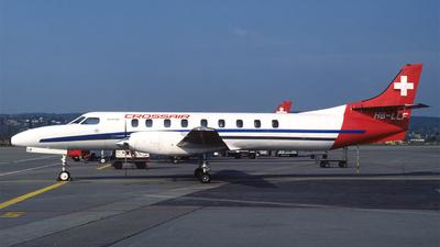 HB-LLF - Swearingen SA227-AC Metro III - Crossair