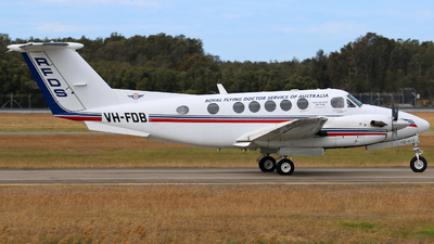 VH-FDB - Beechcraft B200 Super King Air - Royal Flying Doctor Service of Australia (Queensland Section)