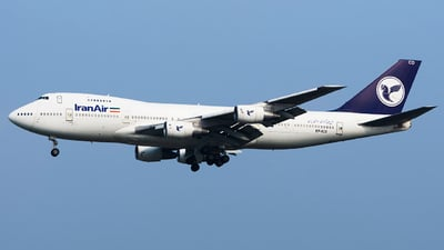 EP-ICD - Boeing 747-21AC(SCD) - Iran Air