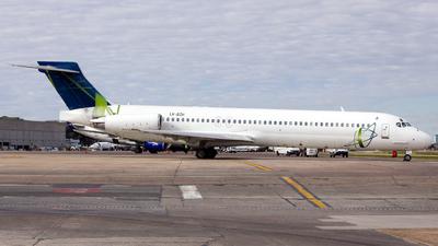 LV-BZH - McDonnell Douglas MD-87 - AeroChaco