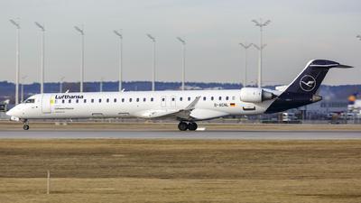A picture of DACNL - Mitsubishi CRJ900LR - Lufthansa - © Dave Henderson