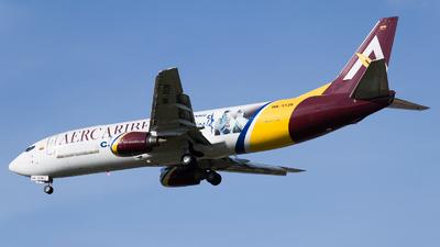 A picture of HK5139 - Boeing 737476(SF) - AerCaribe - © Esteban Cristancho