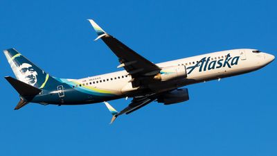 A picture of N523AS - Boeing 737890 - Alaska Airlines - © Andrew Jeng