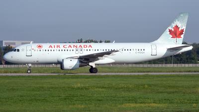 C-FDQV - Airbus A320-211 - Air Canada