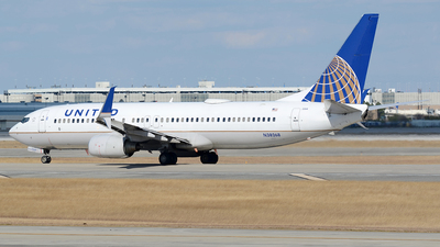 N38268 - Boeing 737-824 - United Airlines