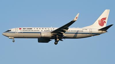 B-1768 - Boeing 737-89L - Air China