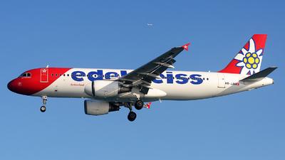A picture of HBJJM - Airbus A320214 - Edelweiss Air - © Alexander Portas