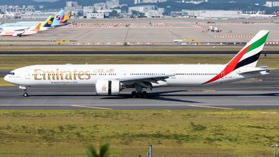 A picture of A6EQP - Boeing 777300(ER) - Emirates - © Dongone Seo-Korea Aero Photos