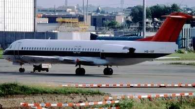 HB-IVF - Fokker 100 - Untitled