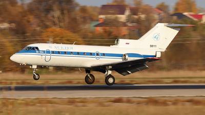 98111 - Yakovlev Yak-40K - Sukhoi Design Bureau