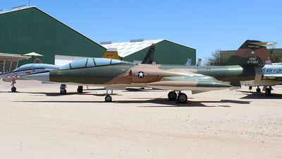 57-1323 - Lockheed F-104D Starfighter - United States - US Air Force (USAF)