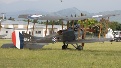 ZK-ZEP - Royal Aircraft Factory BE.2b - Private