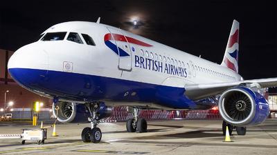 G-EUPF - Airbus A319-131 - British Airways