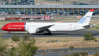 A picture of LNLNU - Boeing 7879 Dreamliner - Norwegian - © Fabrizio Spicuglia