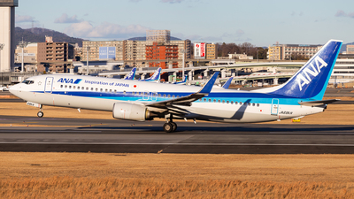 A picture of JA68AN - Boeing 737881 - All Nippon Airways - © LUSU