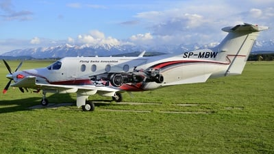 SP-MBW - Pilatus PC-12/47E - Private