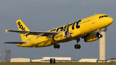 A picture of N607NK - Airbus A320232 - Spirit Airlines - © DJ Reed - OPShots Photo Team