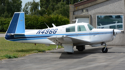 A picture of N496G - Mooney M20E - [1209] - © diopere geert