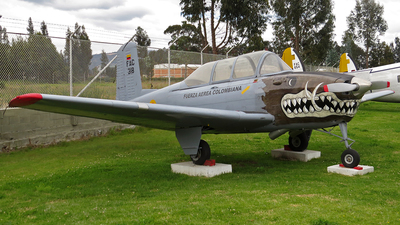 FAC318 - Beechcraft T-34A Mentor - Colombia - Air Force