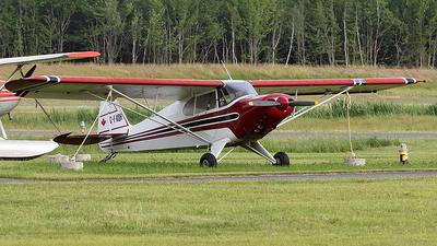 C-FKQH - Piper PA-12 Super Cruiser - Private