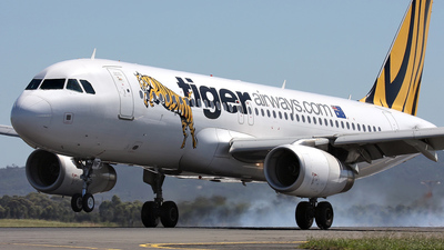 VH-VNF - Airbus A320-232 - Tiger Airways Australia