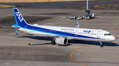 A picture of JA141A - Airbus A321272N - All Nippon Airways - © Resupe