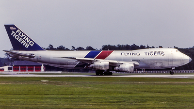 N814FT - Boeing 747-245F(SCD) - Flying Tigers