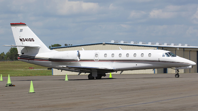 N341QS - Cessna 680 Citation Sovereign - NetJets Aviation