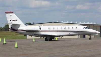 A picture of N341QS - Cessna 680 Citation Sovereign - NetJets - © Orlando Suarez
