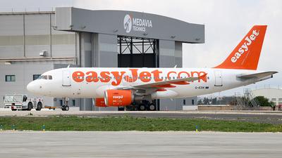 G-EZIK - Airbus A319-111 - easyJet