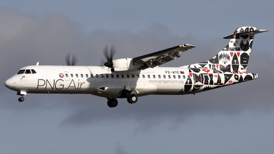 A picture of P2ATE - ATR 72600 - PNG Air - © Nathan Long