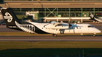 A picture of ZKNEW - De Havilland Canada Dash 8300 - Air New Zealand - © James Kirkland