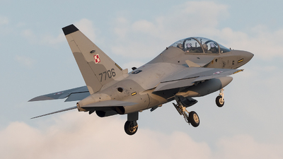 7706 - Alenia Aermacchi M-346 Master - Poland - Air Force