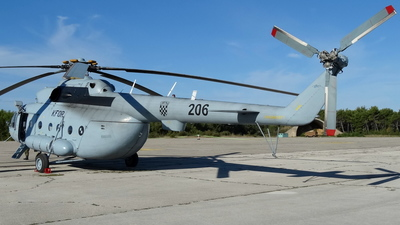206 - Mil Mi-8MTV-1 Hip - Croatia - Air Force