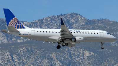 A picture of N140SY - Embraer E175LR - United Airlines - © Jason Whitebird