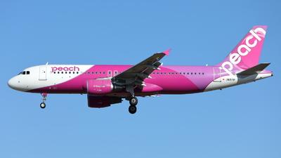 A picture of JA817P - Airbus A320214 - Peach - © kouyagi