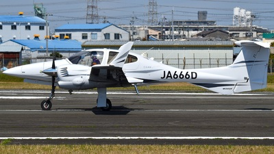 JA666D - Diamond DA-42 Twin Star - Private