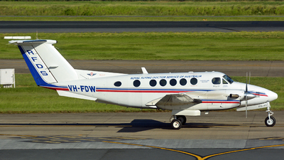 VH-FDW - Beechcraft B200 Super King Air - Royal Flying Doctor Service of Australia (Queensland Section)
