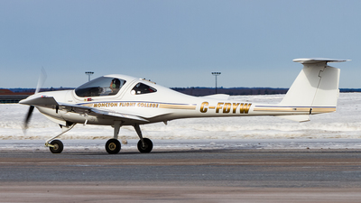 C-FDYW - Diamond DA-20-C1 Eclipse - Moncton Flight College
