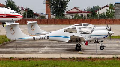 B-9489 - Diamond DA-40D Diamond Star - Private