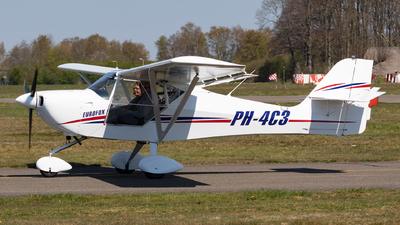 A picture of PH4C3 - Aeropro Eurofox - [23007] - © Jesse Vervoort