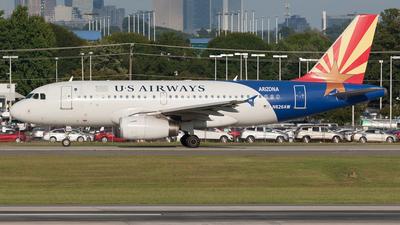 N826AW - Airbus A319-132 - US Airways