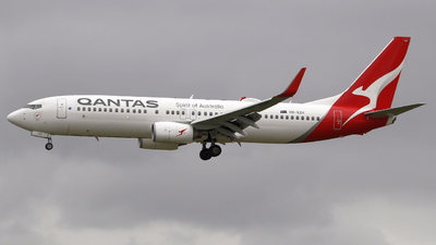 A picture of VHVZH - Boeing 737838 - Qantas - © F.Wolf