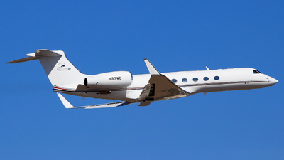 A picture of N87WD - Gulfstream V - [649] - © Pampillonia Francesco - Plane Spotters Bari