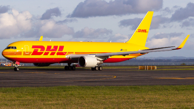 A picture of VHEXZ - Boeing 7673JHF(ER) - DHL - © Lukasz Swain