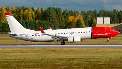 A picture of SERPM - Boeing 7378JP - Norwegian - © Laszlo Fekete