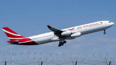 A picture of 3BNBE - Airbus A340313 - Air Mauritius - © Mj_Aviation