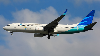 PK-GFJ - Boeing 737-86N - Garuda Indonesia