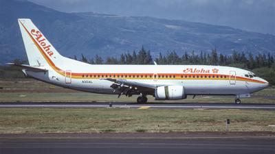 N301AL - Boeing 737-3T0 - Aloha Airlines