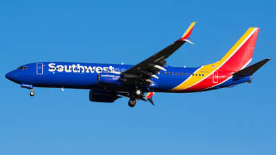 A picture of N8321D - Boeing 7378H4 - Southwest Airlines - © Martin Rogosz